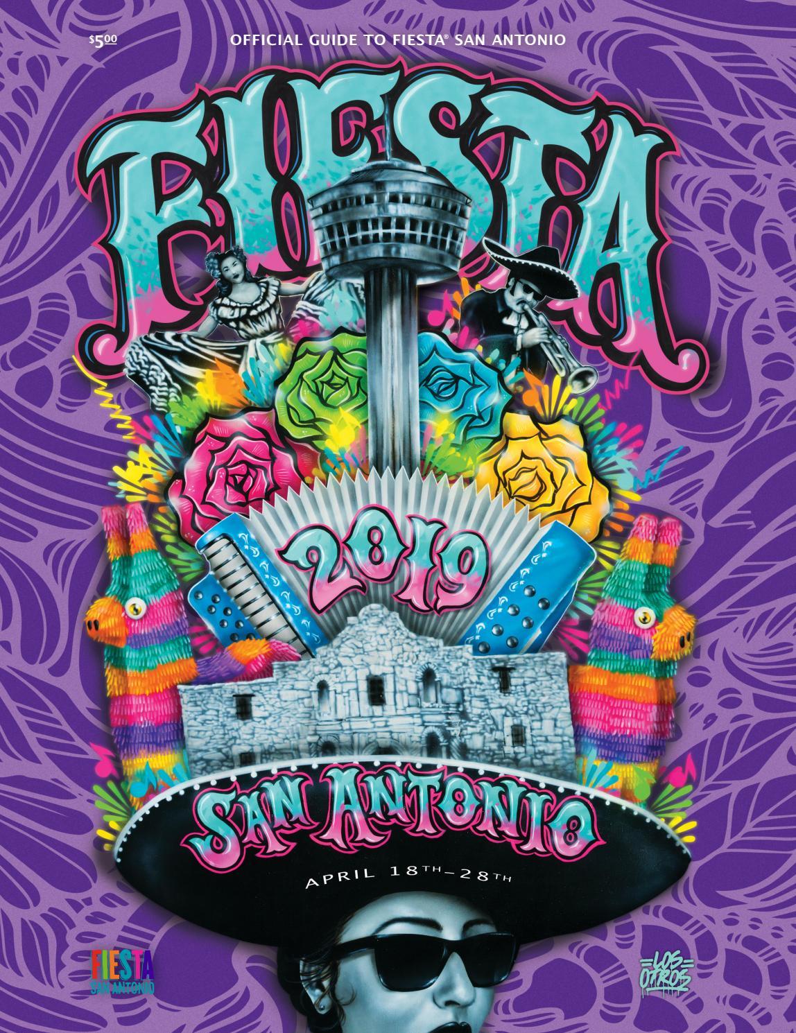 96f3a80ec 2019 Fiesta San Antonio by Traveling Blender - issuu