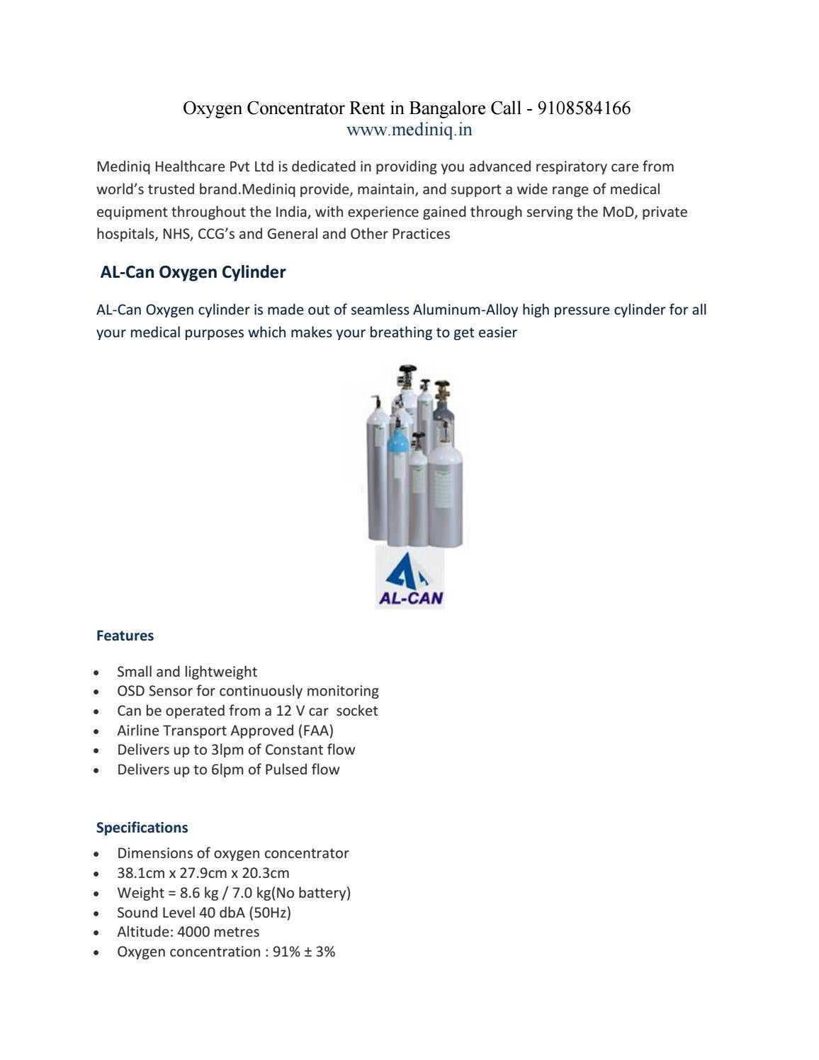 Oxygen Concentrator on rent in Bangalore Call - 9108584166