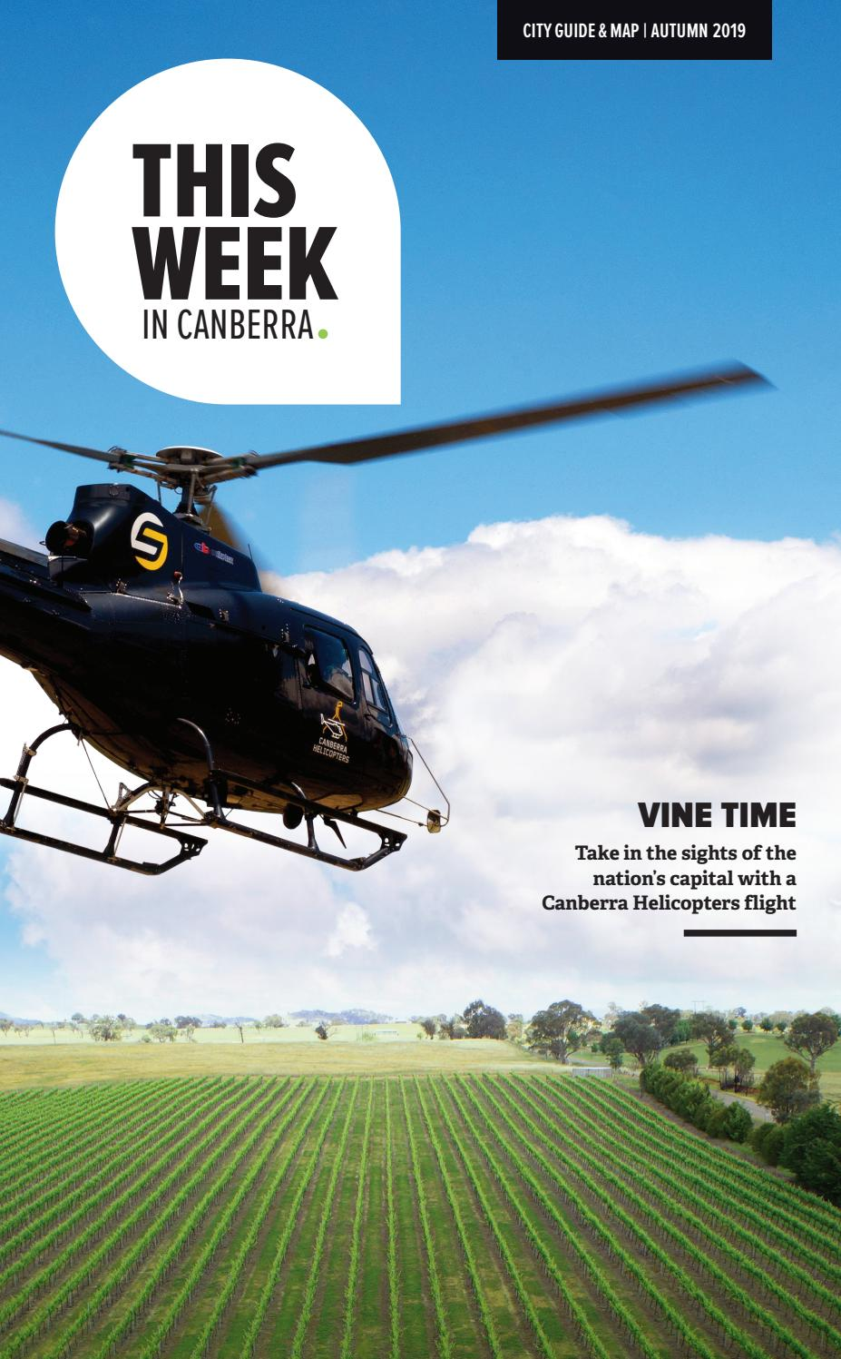 This Week in Canberra - Autumn 2019 by Hardie Grant Media