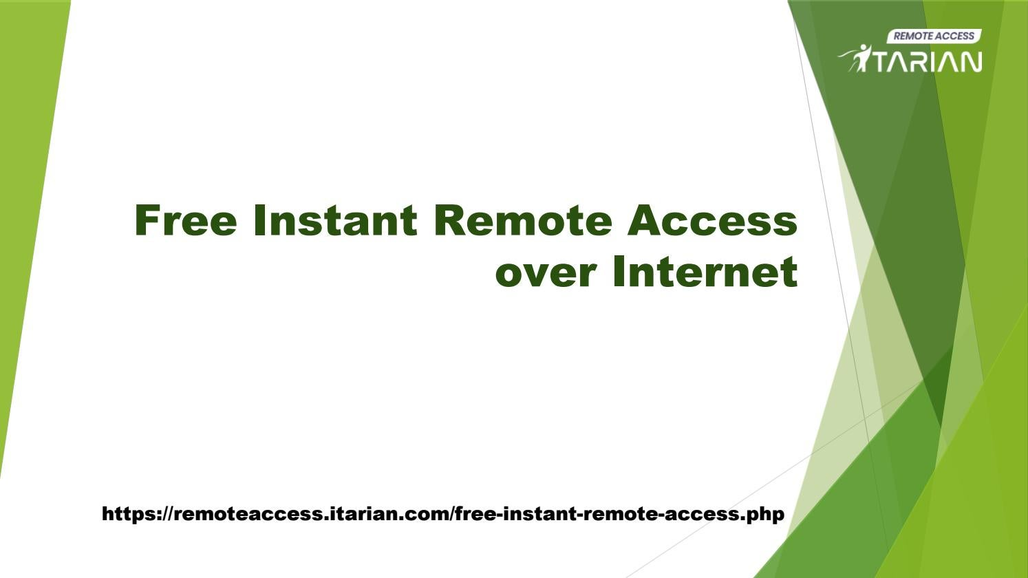 Instant Remote Access ITarian Full Suite by aaronmacro - issuu