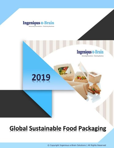 Global Market Analysis of Sustainable Food Packaging and