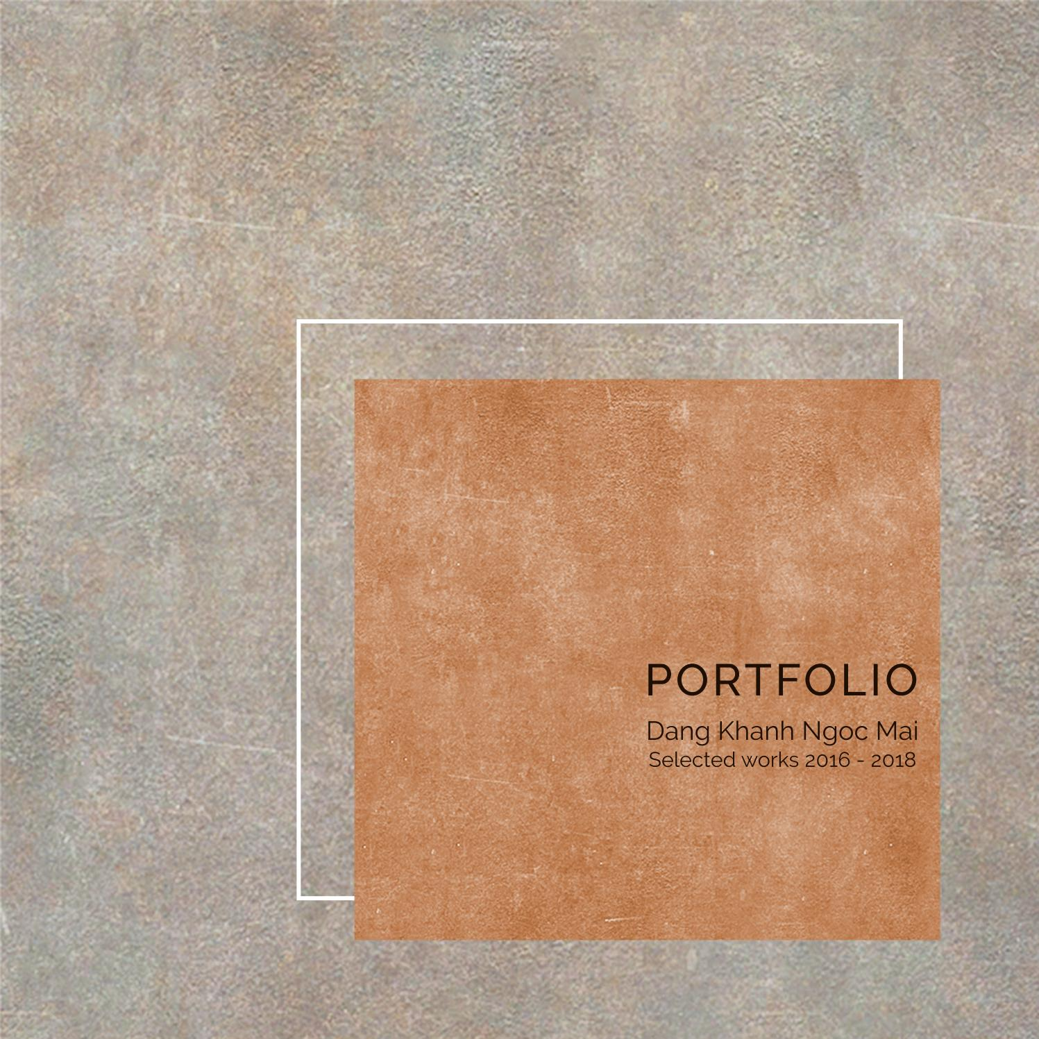 Architecture Student Portfolio - Mai Dang by Maikie Đặng - issuu