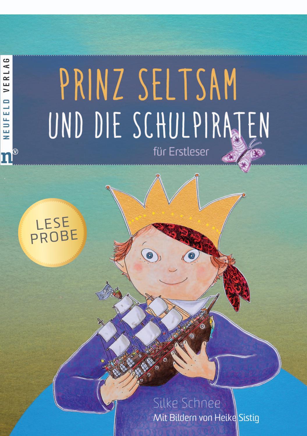Leseprobe zum Buch Prinz Seltsam und die Schulpiraten