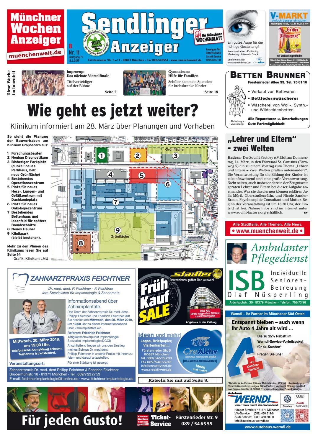 KW 11 2019 by Wochenanzeiger Medien GmbH issuu