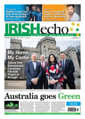 3ada0743 Irish Echo St Patrick's Day Edition 2019 by Irish Echo - issuu