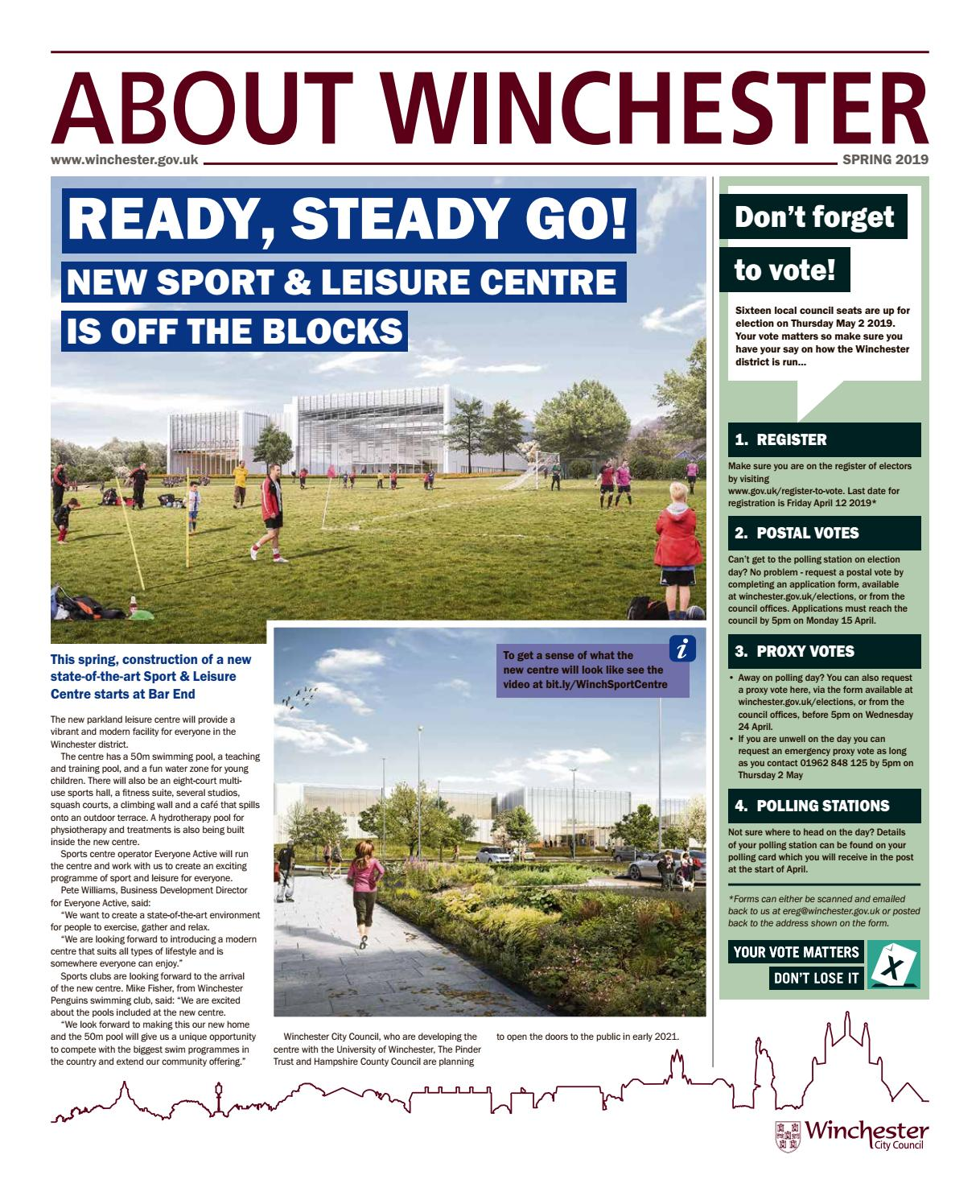 About Winchester - Spring 2019 by Communications Winchester