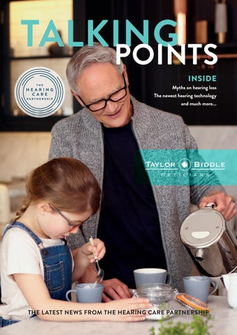5a7e373e5cc Taylor Biddle Opticians Talking Points Spring 2019 by The Hearing ...