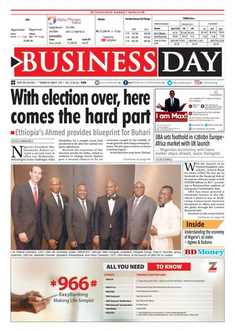 d9d779f74d1 BusinessDay 04 Mar 2019 by BusinessDay - issuu