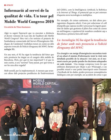 Page 10 of Health Tour al MWC 19