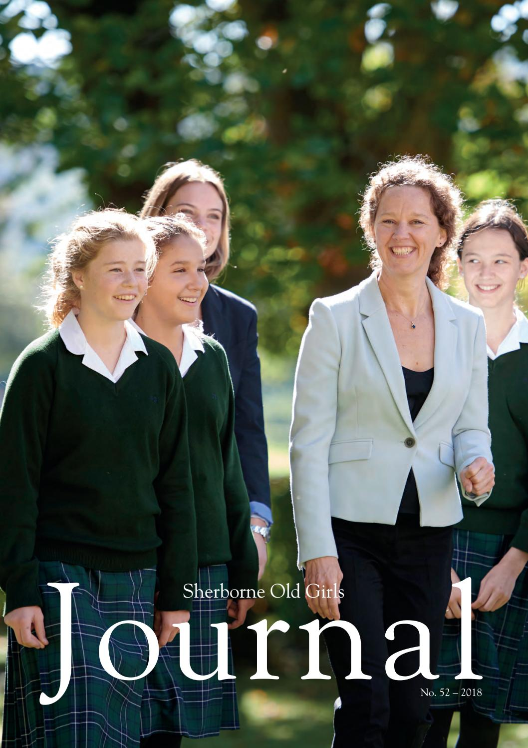 Sherborne Old Girls Journal 2018 by Shelleys the Printers