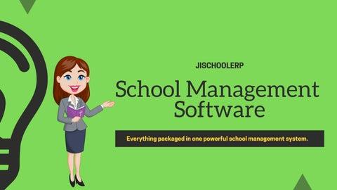Online school management software   jiSchoolERP by