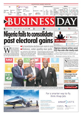 BusinessDay 12 Mar 2019 by BusinessDay - issuu