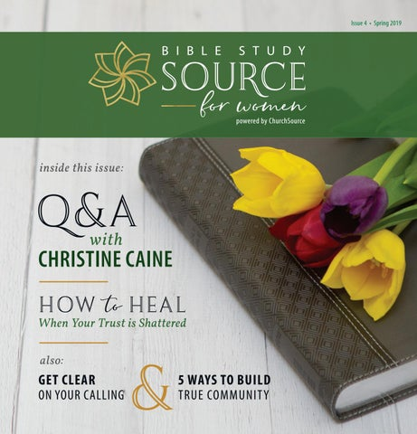 Bible Study Source for Women Magazine - Issue 4 by