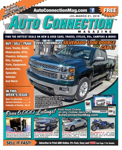 03-21-19 Auto Connection Magazine by Auto Locator and Auto