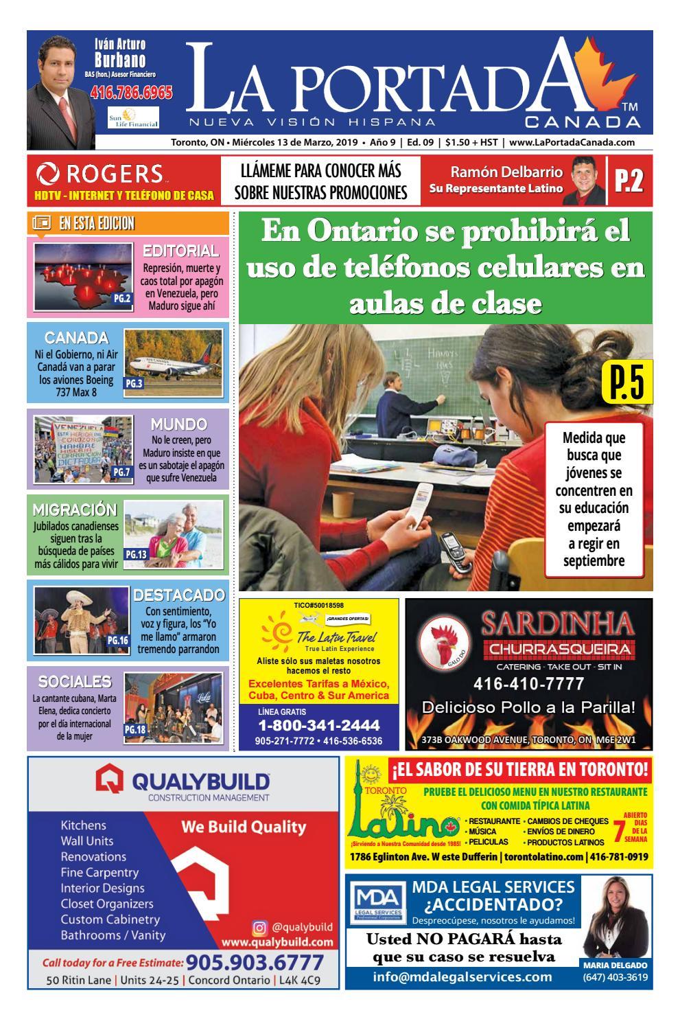 3841b5441 La Portada Canada by Comercio Latino - issuu