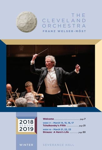 The Cleveland Orchestra March 14-17, 21-23 Concerts by Live