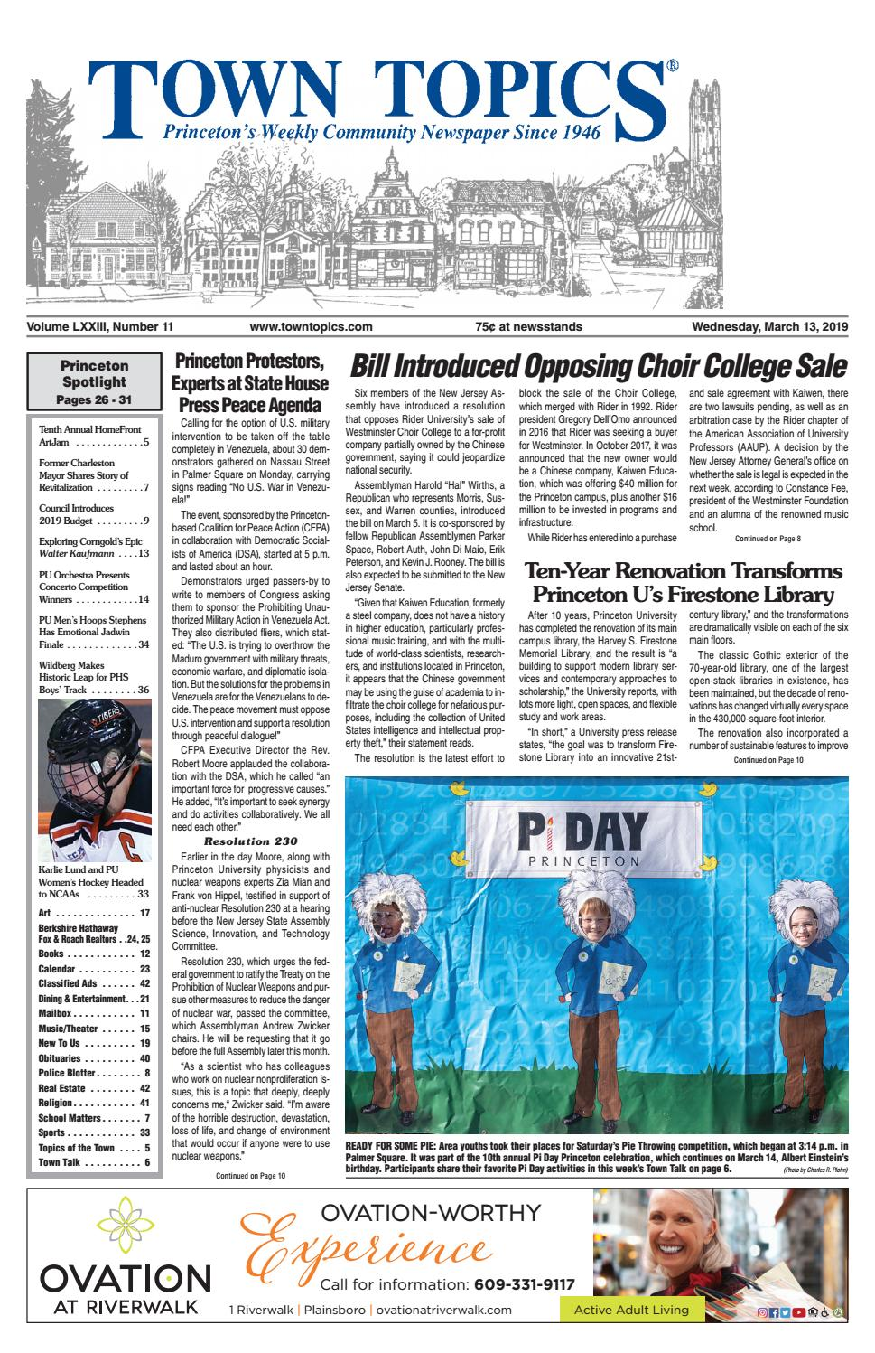 f2ca1de5a41 Town Topics Newspaper