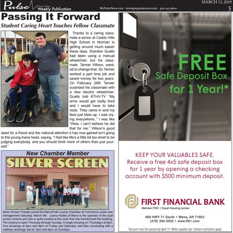 Page 5 of Passing It Forward:  Student's Caring Heart Touches Fellow Classmate
