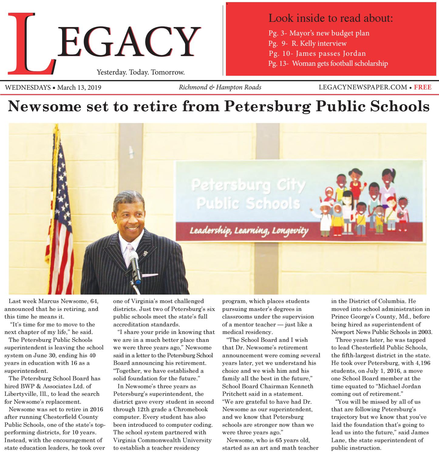 TLN-3-13-19 by The Legacy Newspaper - issuu