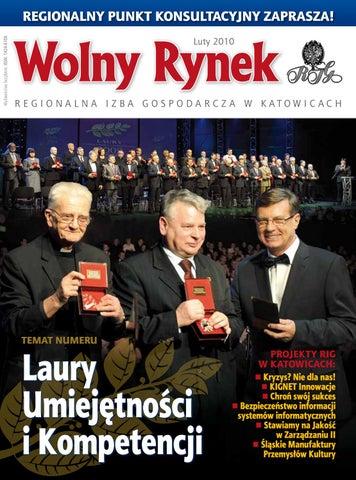 5353afef3f5c14 Wolny Rynek - luty 2010 by Regionalna Izba Gospodarcza w Katowicach ...