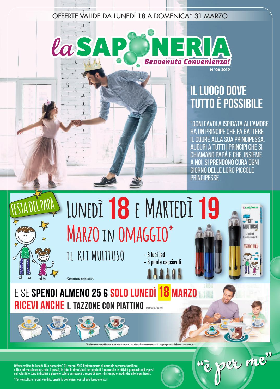 il più economico vasta gamma caldo-vendita Volantino La Saponeria n. 6 - 2019 by La Saponeria - issuu