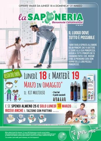 814b9093d1 Volantino La Saponeria n. 6 - 2019 by La Saponeria - issuu