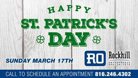 Rockhill Orthopaedic Specialists - Happy St  Patrick's Day by