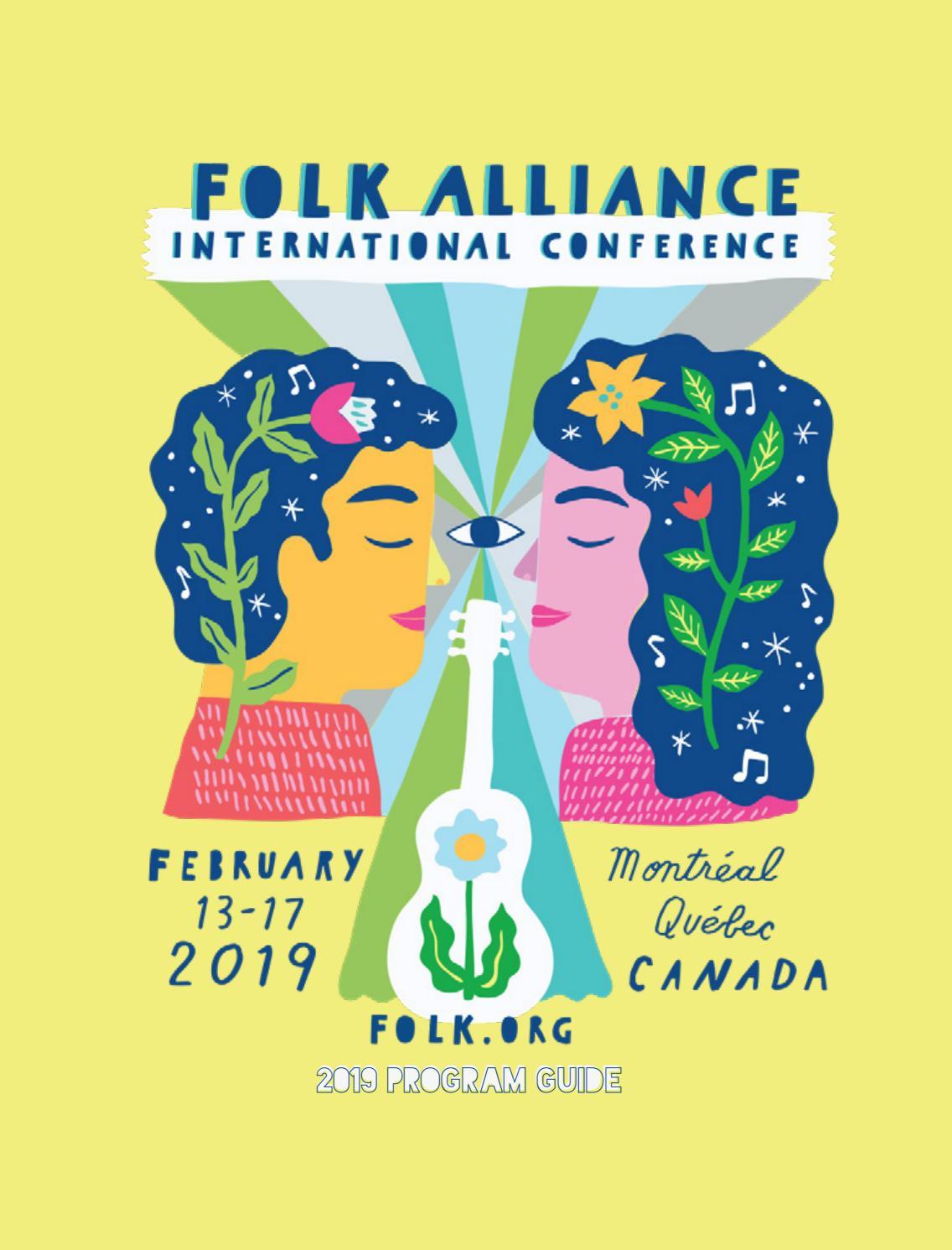 2019 Folk Alliance International Program Book by Folk