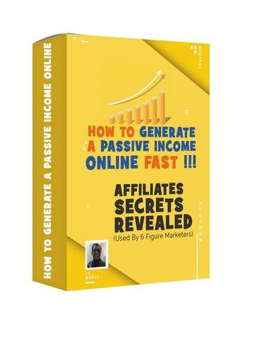 Affiliates Secrets Revealed by websachi - issuu