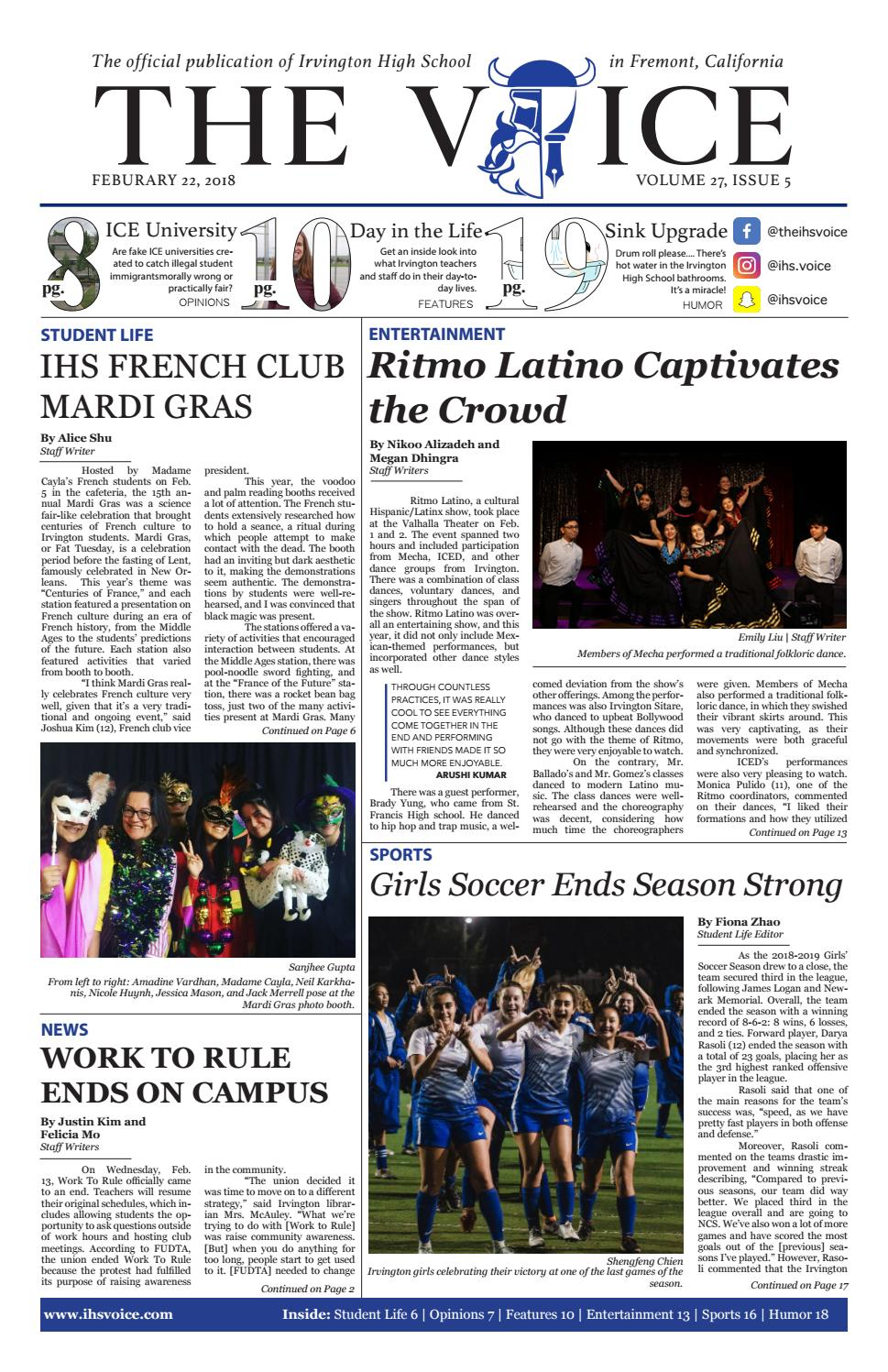 The Irvington Voice 27 5 by The Irvington Voice - issuu