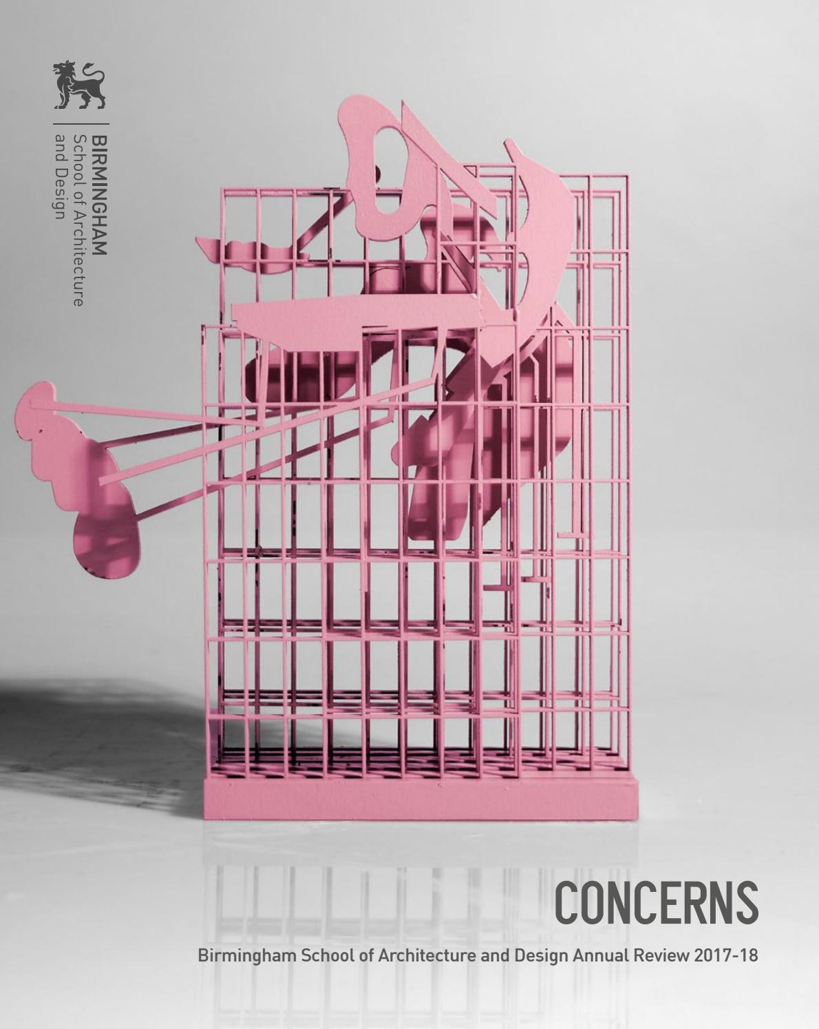 Concerns 2017-18, Birmingham School of Architecture and