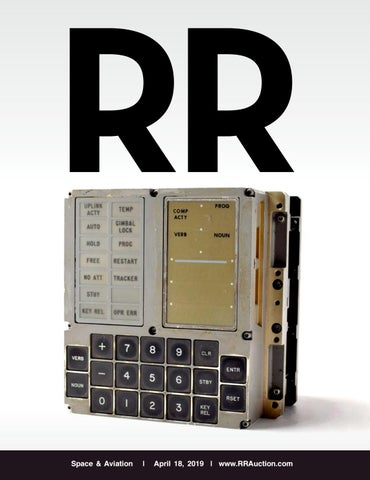 RR Auction: Space & Aviation by RR Auction - issuu