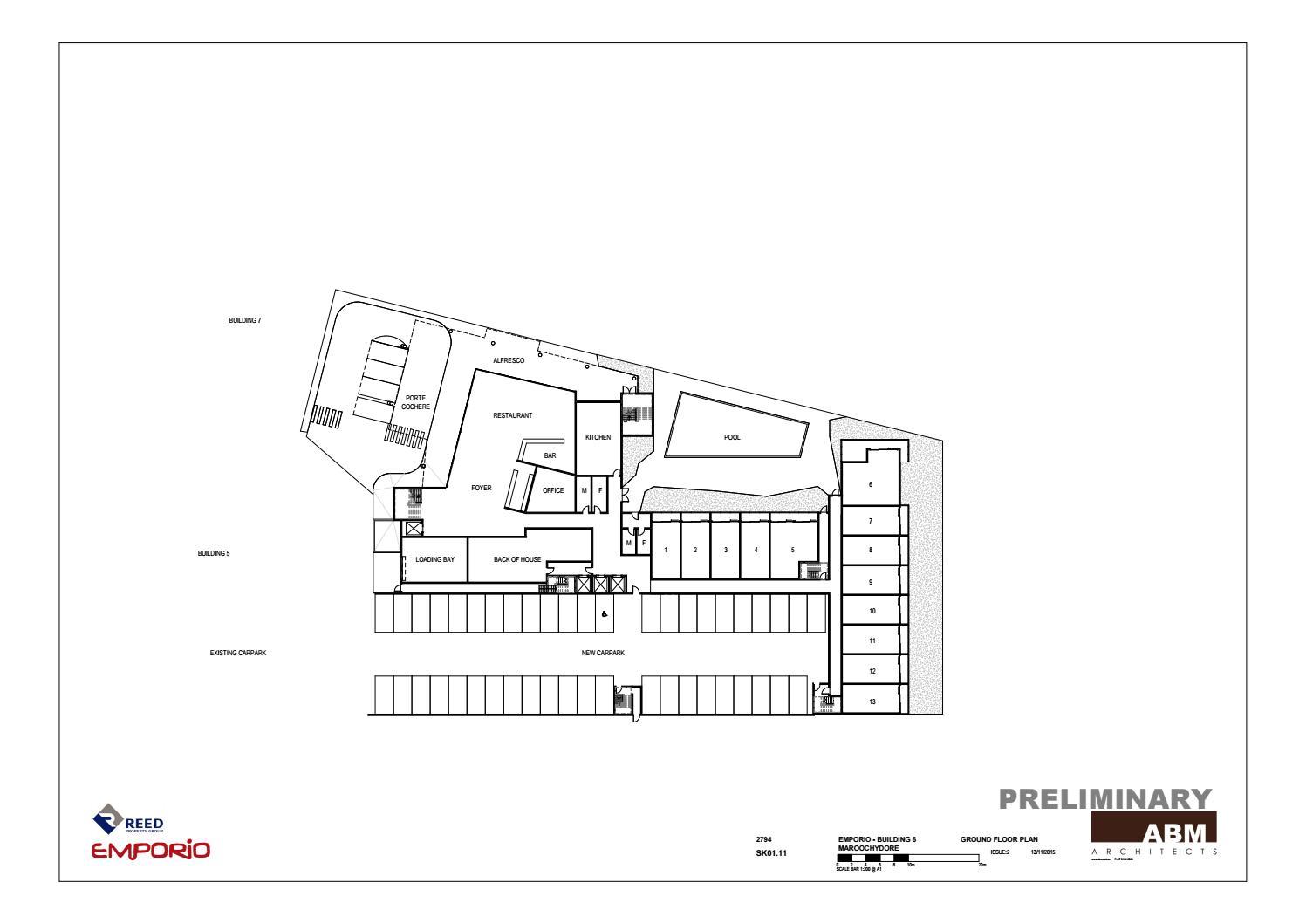 Hotel Floor Plan By Dhaka Designer Issuu