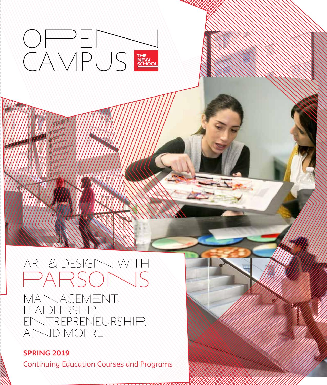 Strange Spring 2019 Open Campus Catalog Parsons By The New School Interior Design Ideas Clesiryabchikinfo