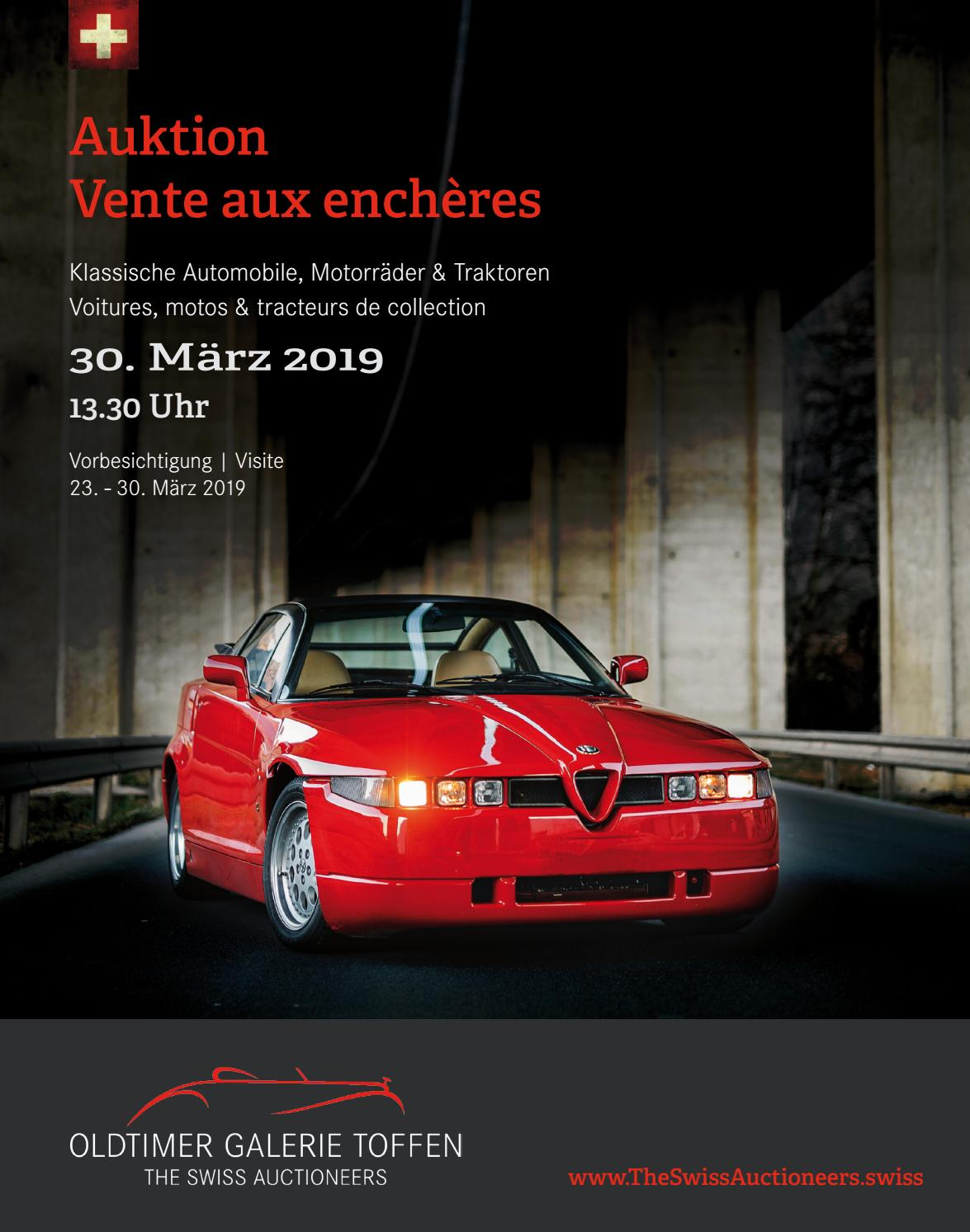 Classic car auction on march 30th 2019 by oldtimer galerie international gmbh issuu