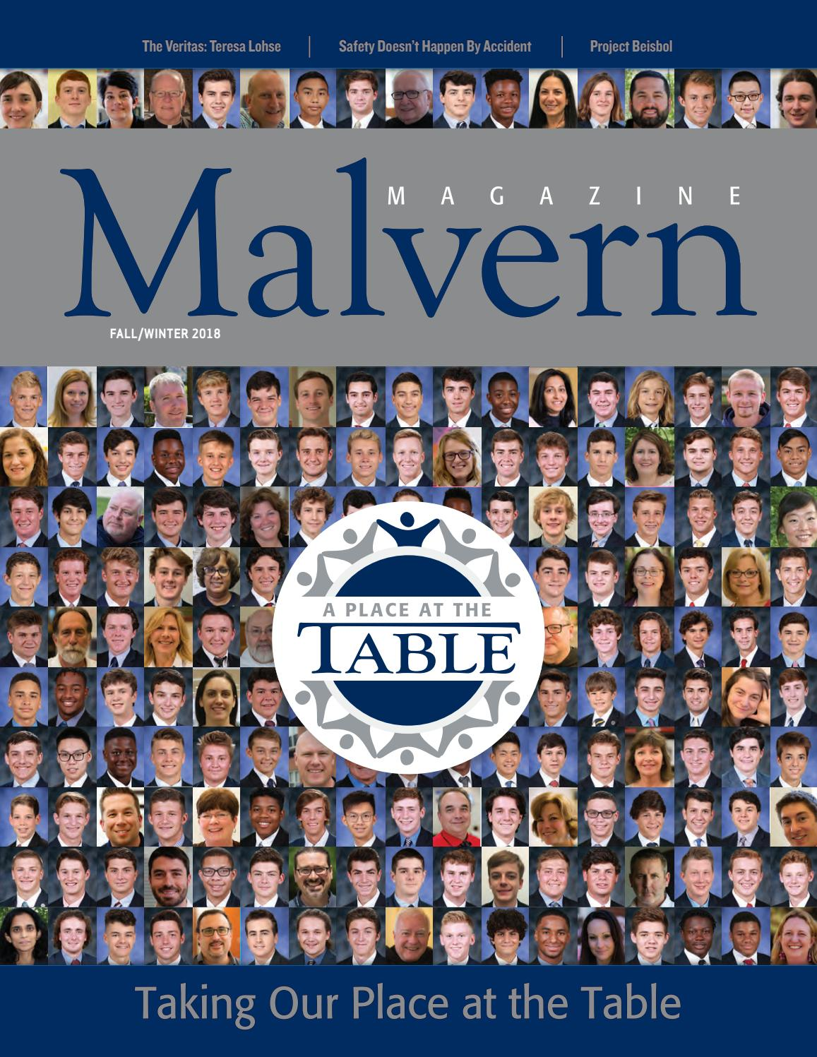 Malvern Magazine Fall/Winter 2018 by Malvern Preparatory