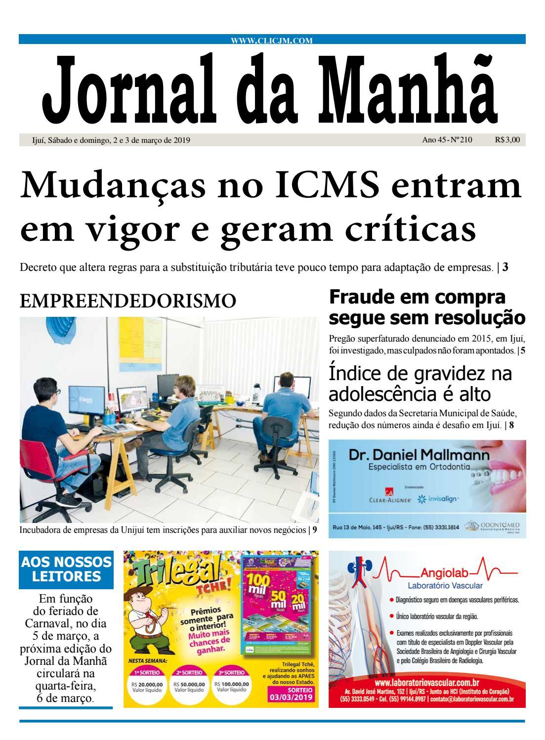 921b47c2c49 Jornal da Manhã - Sábado - 02-03-2019 by clicjm - issuu