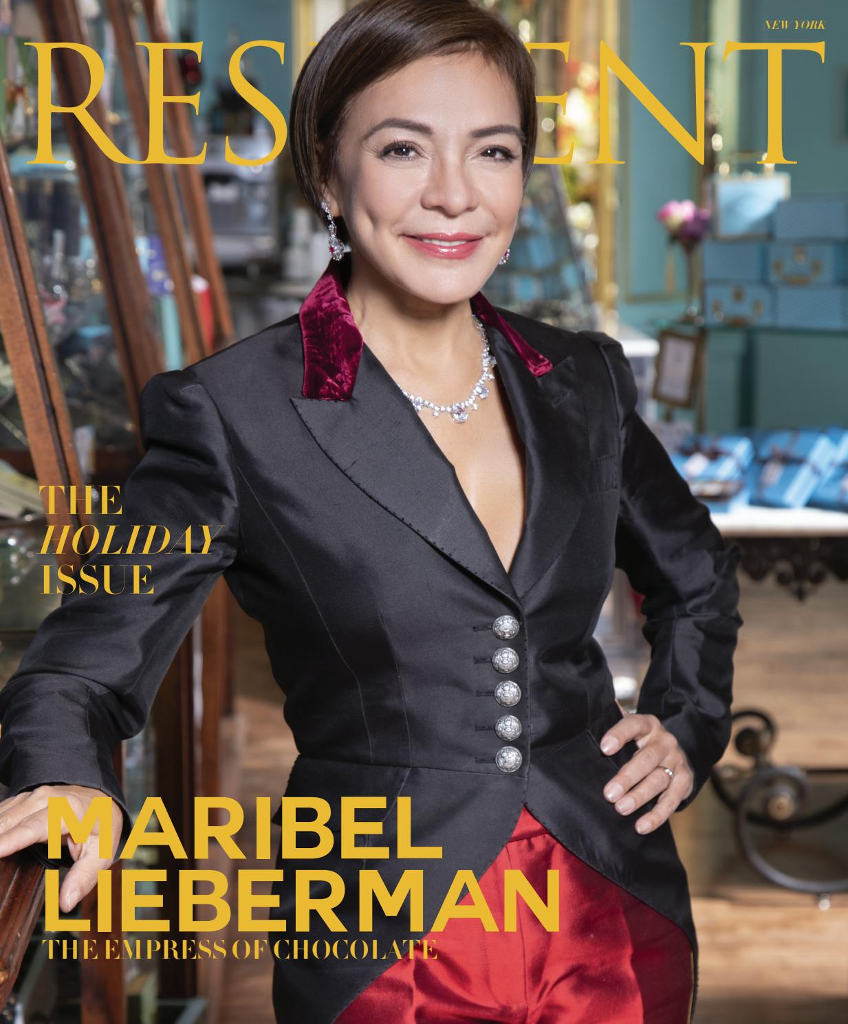 a0e975d78 Resident Magazine NY DECEMBER 2018 MARIBEL by Resident Magazine - issuu
