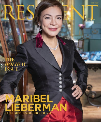 c54fef5165fb Resident Magazine NY DECEMBER 2018 MARIBEL by Resident Magazine - issuu