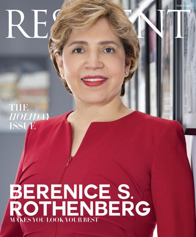1fae4c466d Resident Magazine NY DECEMBER 2018 BERENICE by Resident Magazine - issuu