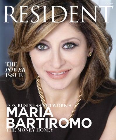 9d0bb3df923 Resident Magazine NY FEBRUARY 2019 MARIA BARTIROMO by Resident ...