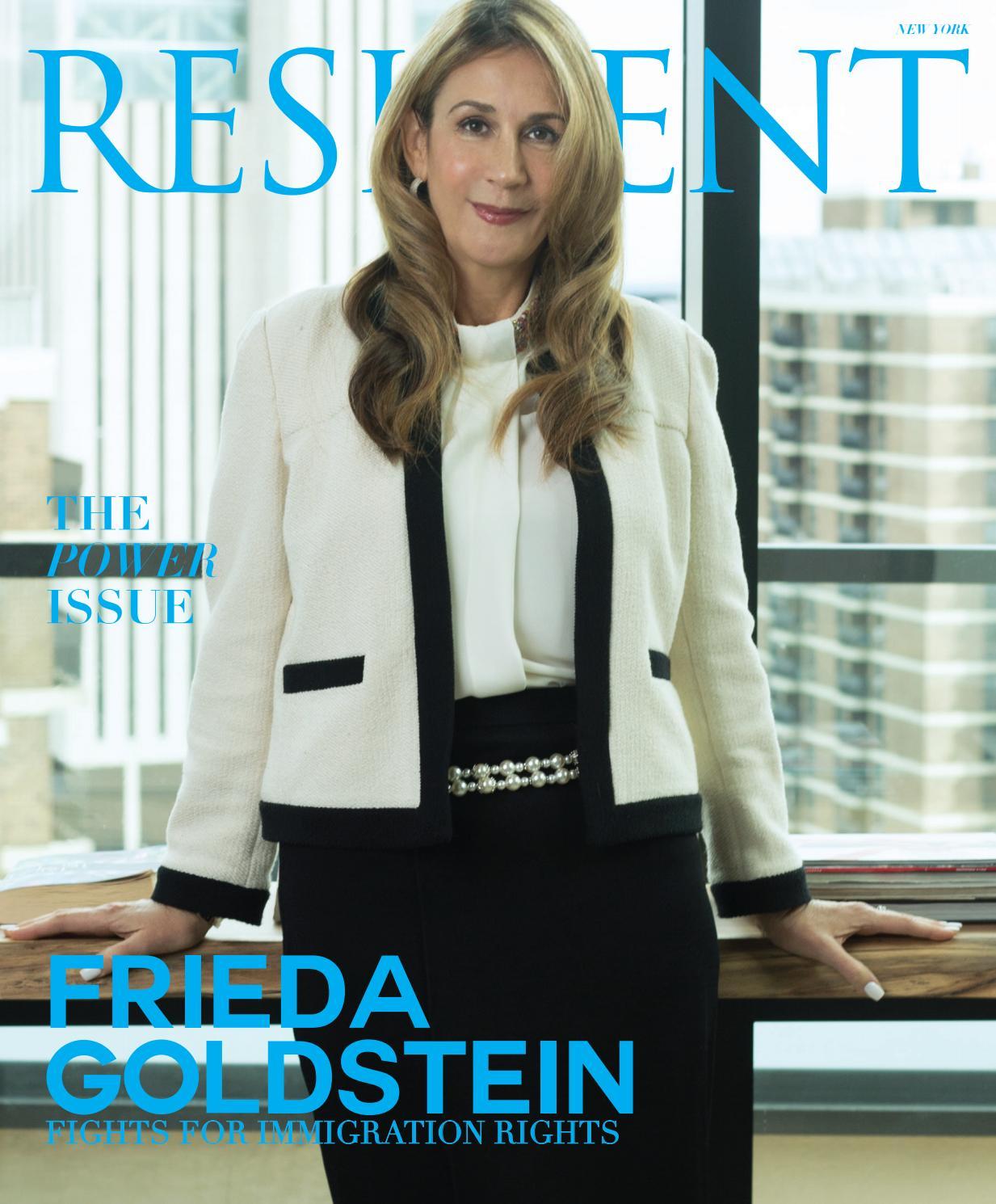 4849fe9a965 Resident Magazine NY FEBRUARY 2019 FRIEDA GOLDSTEIN by Resident Magazine -  issuu
