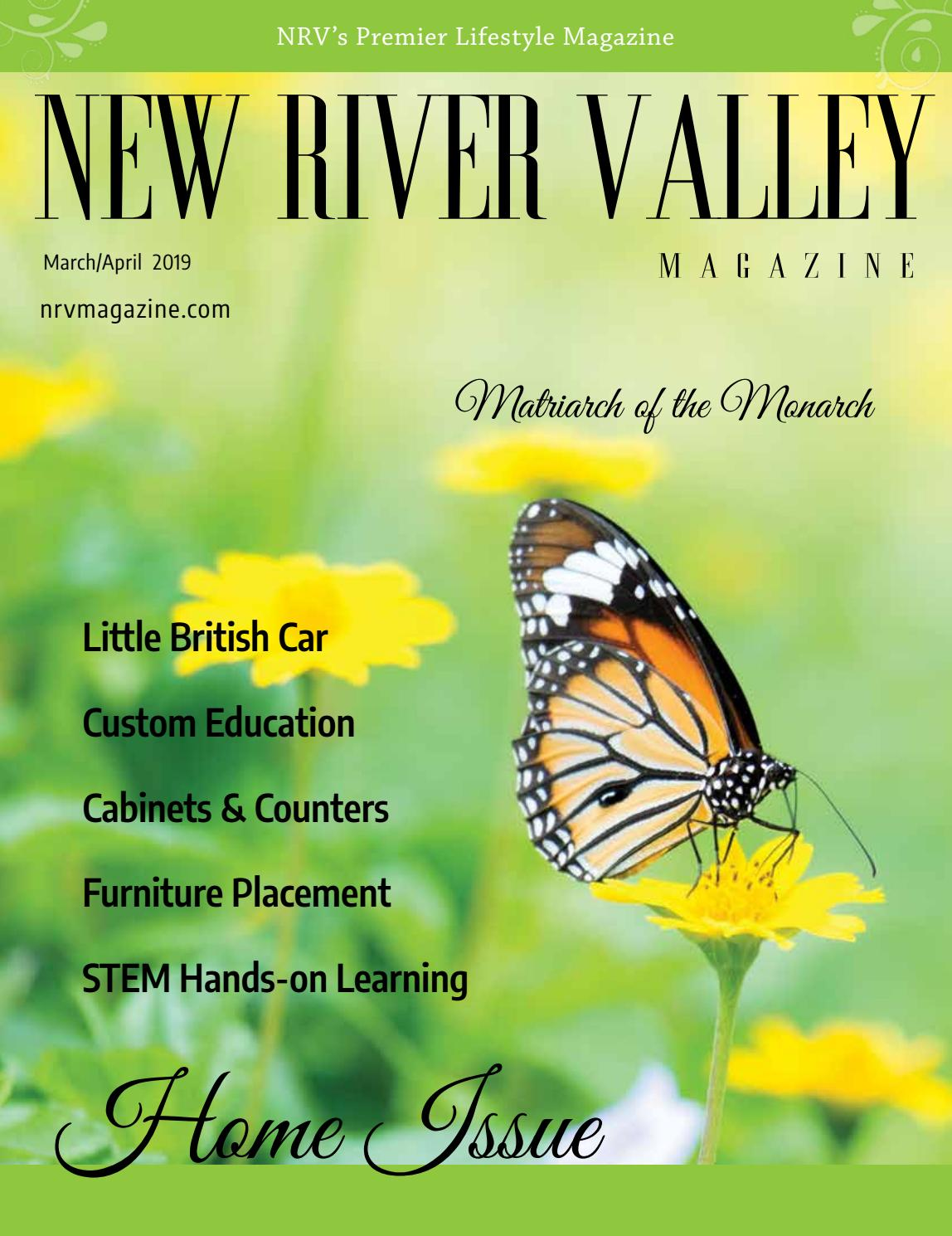Nrv Magazine March April 2019 By New River Valley Magazine Issuu
