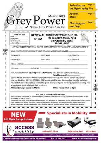 Nelson Grey Power Magazine - March 2019 by Waimea Weekly Ltd - issuu