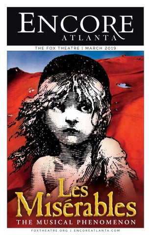 5d5c914a88 FOX ENCORE    MARCH 2019    LES MISERABLES + JERSEY BOYS by Encore ...