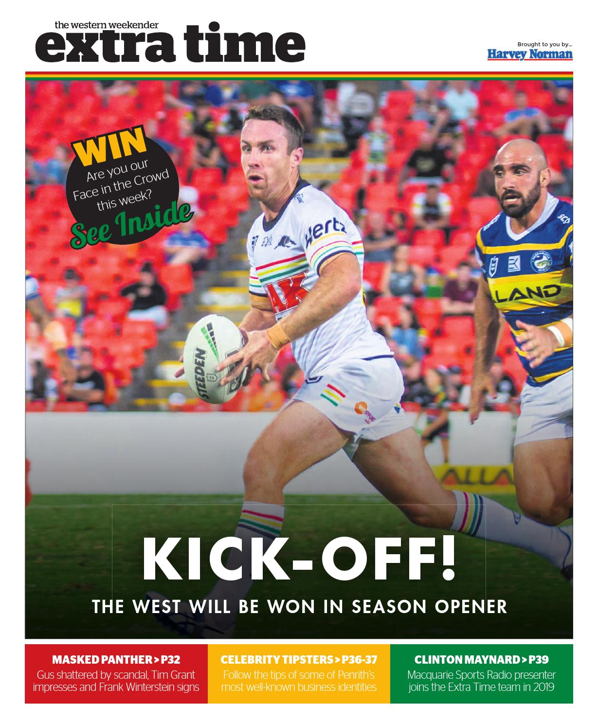 Andy Mannah extra time (round 1) march 15western sydney publishing