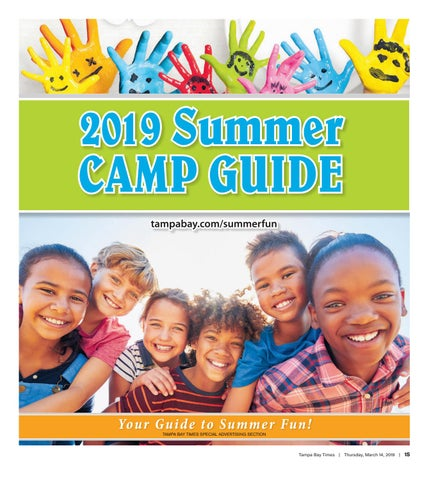 Tampa Bay Times - 2019 Summer Camp Guide by Times Creative - issuu