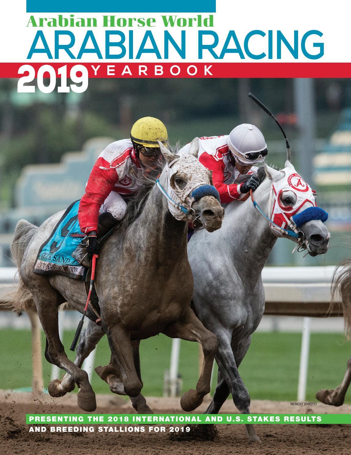 2019 Arabian Racing Yearbook By Arabian Horse World Issuu