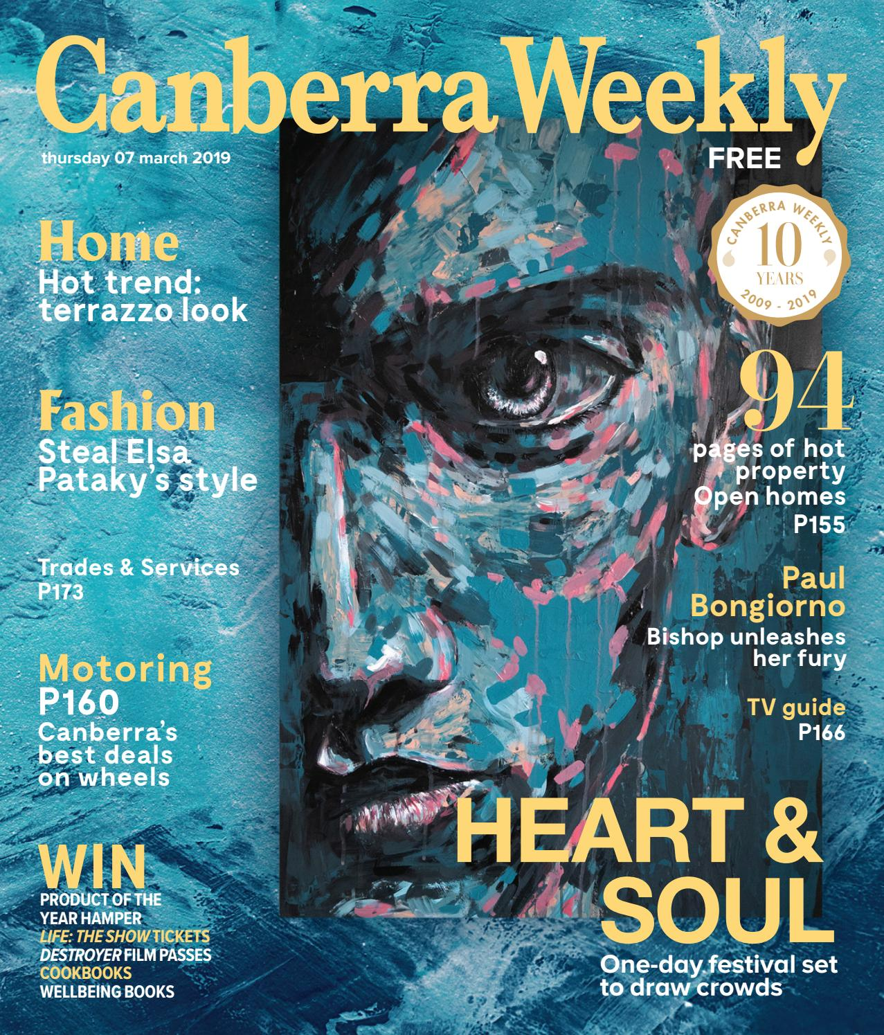 07 March 2019 by Canberra Weekly Magazine - issuu