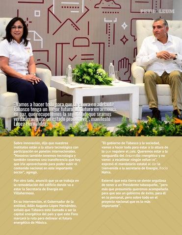 Page 8 of Inicia Pemex saneamiento de finanzas para rescatar la soberanía energética
